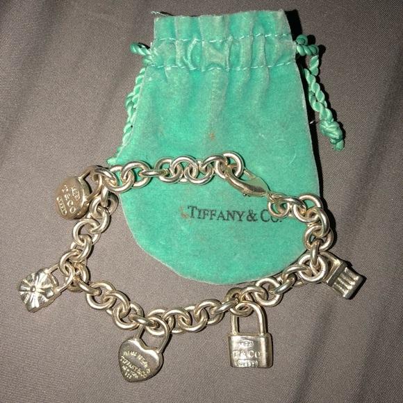 fd915ae17 Vintage 1970s Tiffany & Co. silver charm bracelet.  M_5a652d0100450fe23ff2d206